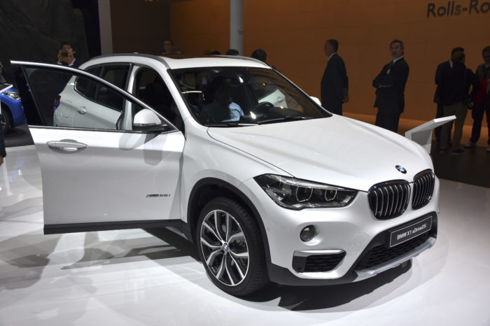 BMW starts to build X1 at Nedcar Born in July