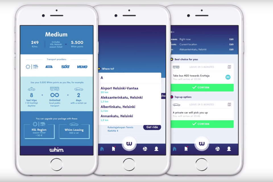 Whim app combines all means of transport in Antwerp - newmobility news