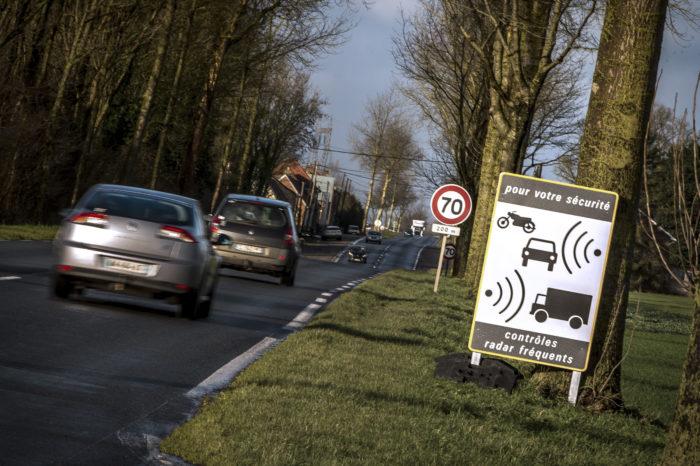 5.000 speed cameras say 'bienvenue' in France