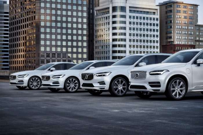 Every Volvo with electric motor from 2019 on