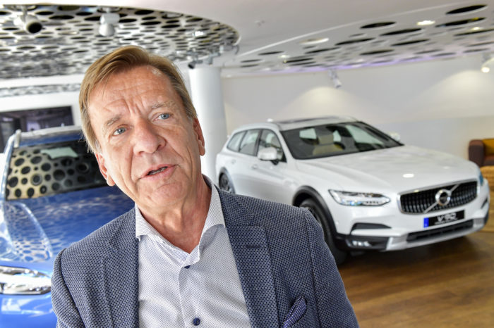 'The man who gave Volvo a second life'