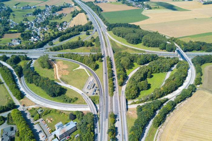 Roadworks to enlarge E42 will last for one year