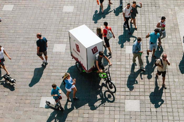 Bpost takes over bicycle delivery service Bubble Post