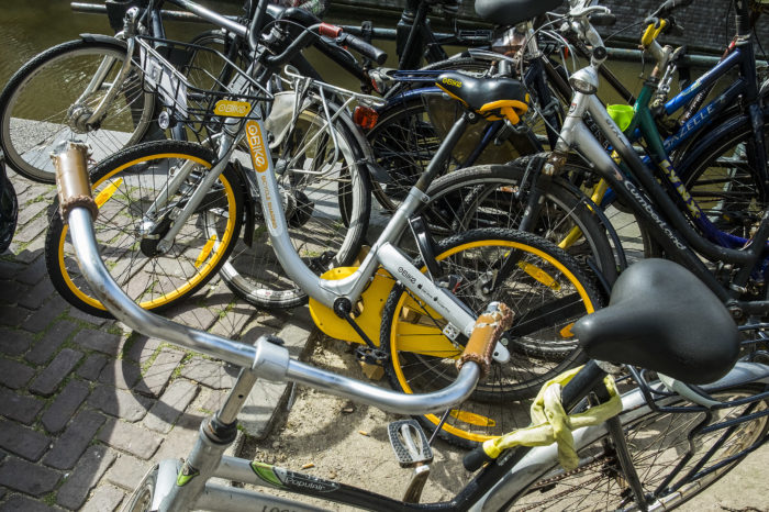 Amsterdam hires Antwerp expert to deal with shared bike problem