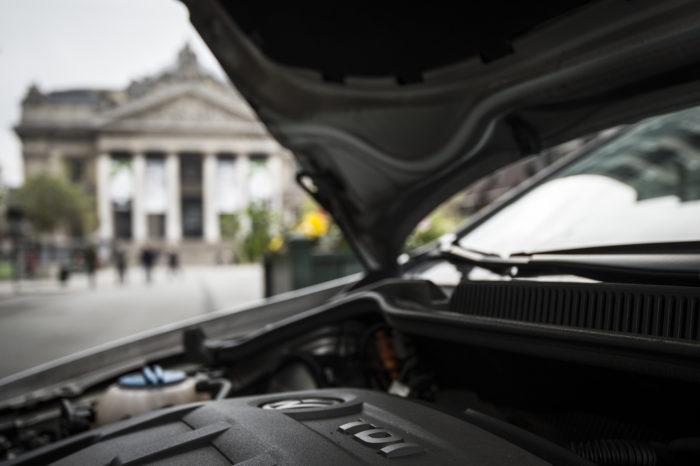 Diesel defending car sector is 'shameless', some politicians say.