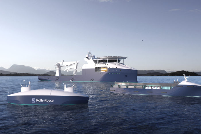 Rolls-Royce Marine works with Google on autonomous ships