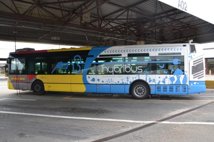 Plug-in hybrid bus of Green Propulsion with 37 km e-range