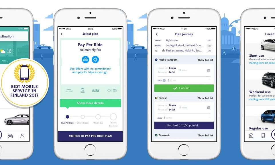 Finnish MaaS Global starts testing all-in-one mobility app in