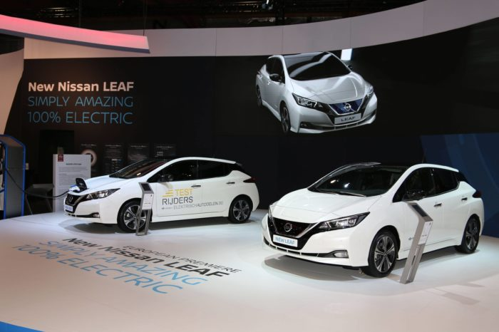 Nissan calls on test drivers to lease and share electric Leaf