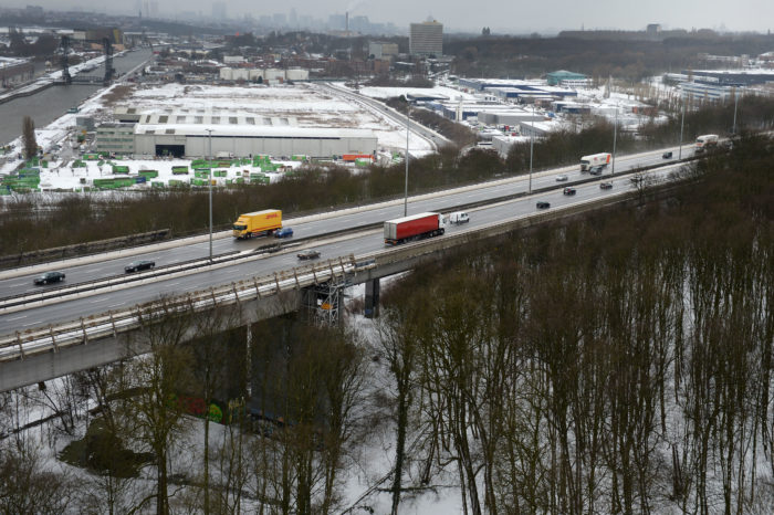 Viaduct on Brussels' Ring strong enough for fourth lane