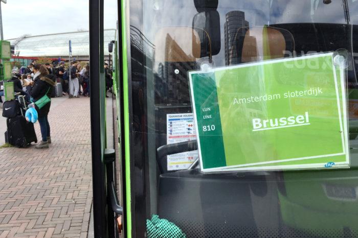 FlixBus now offers rides between Belgian cities