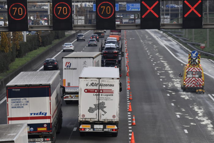 76 truckers flashed daily on Belgian roads