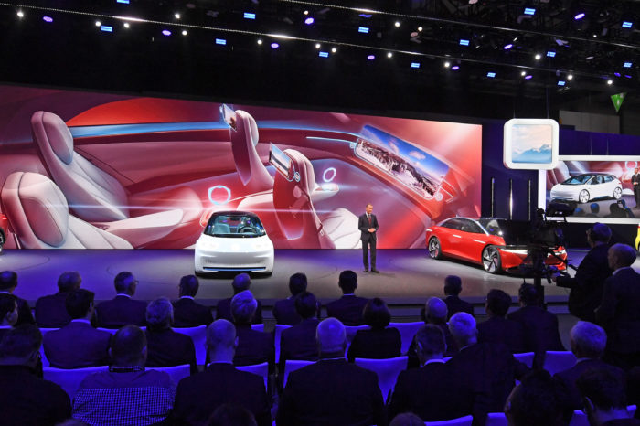 German car manufacturers invest heavily in electrification