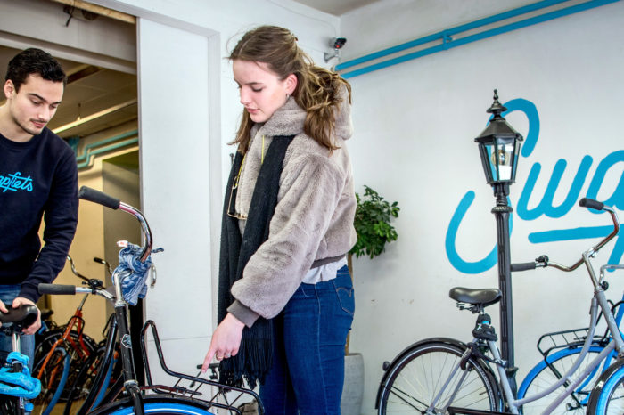 Dutch 'Swap-bike' launches private lease bikes in Antwerp
