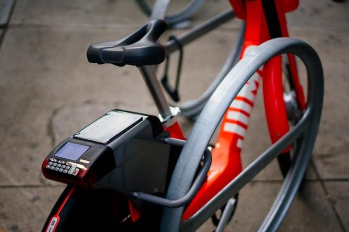 Uber buys shared-bicycle company Jump