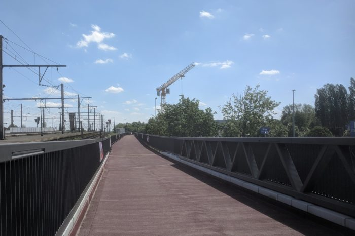 New 'bicycle highway' bridge to cross Antwerp Singel