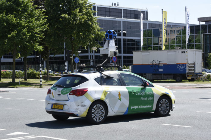 First Google cars to measure air pollution in Copenhagen