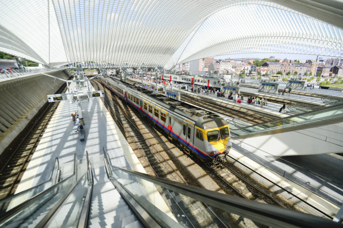 New passenger train line between Seraing and Liège