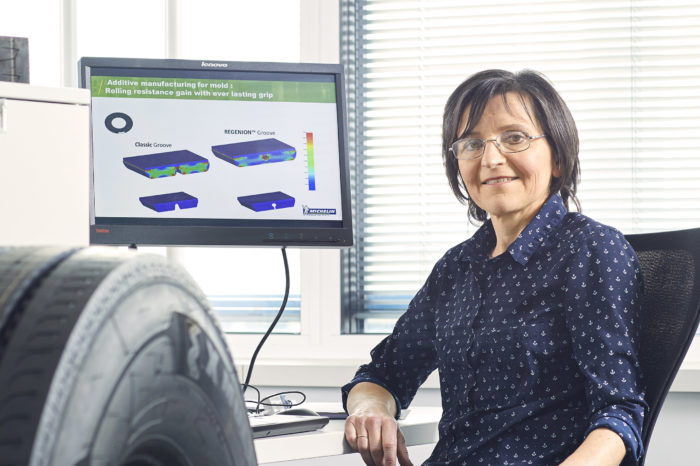 Female researcher 'EU Inventor of the Year' with 'regenerative' tire