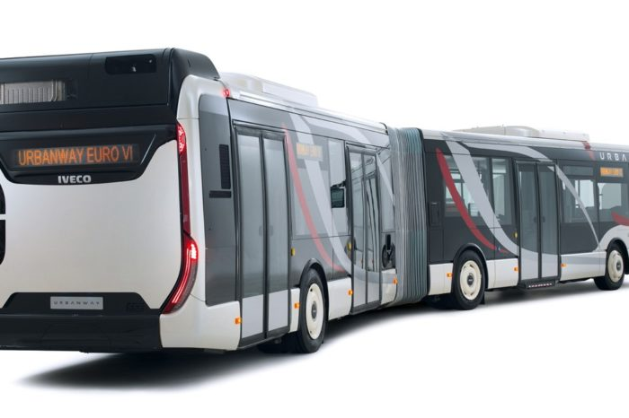 Iveco to deliver 140 articulated hybrid buses for Brussels