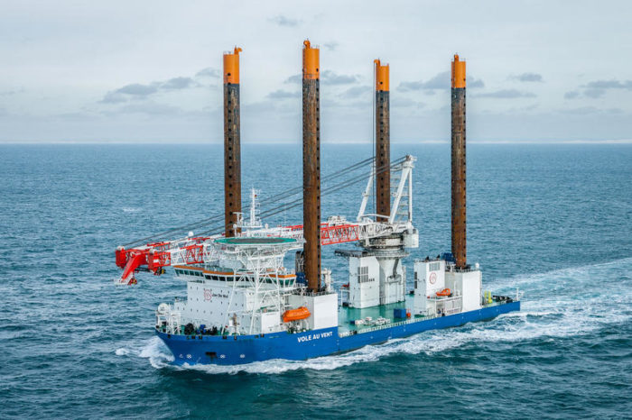 Dredger De Nul joins in on 7th Belgian offshore windmill park