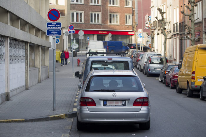 Brussels: fewer cars from citizens, more from commuters