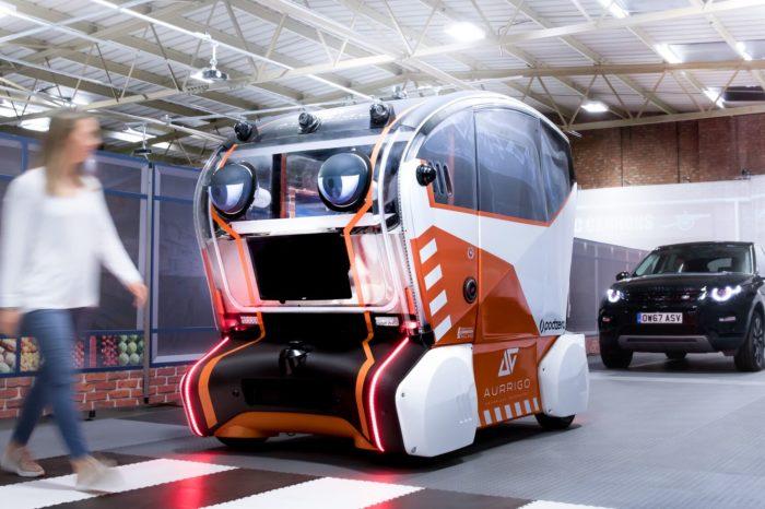 Jaguar's self-driving pods make eye contact