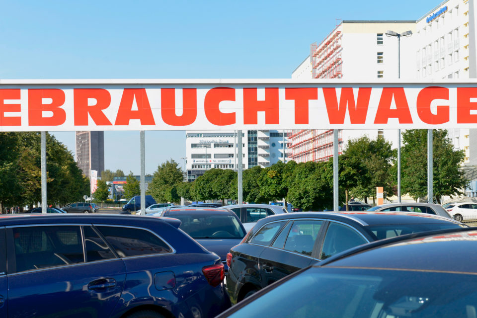 Second Hand Car S Are Booming And Germany Is Exporting Its Sels Throughout Europe Agefotostock