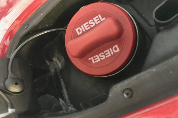 Can used frying oil save the diesel engine?