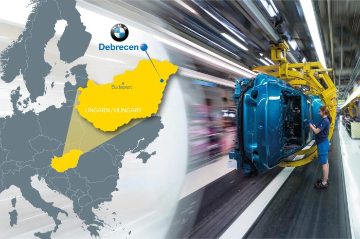 BMW invests 1 billion euro in Hungarian plant