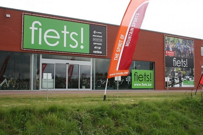 Fiets! is closing five shops in Flanders after Dutch bankrupcy