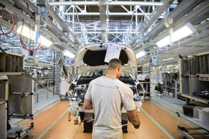 French car making industry in resurgence