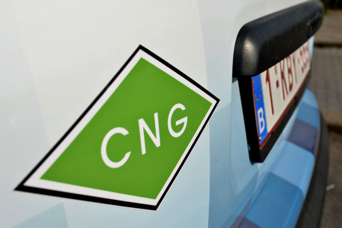 First bio CNG filling station in Belgium
