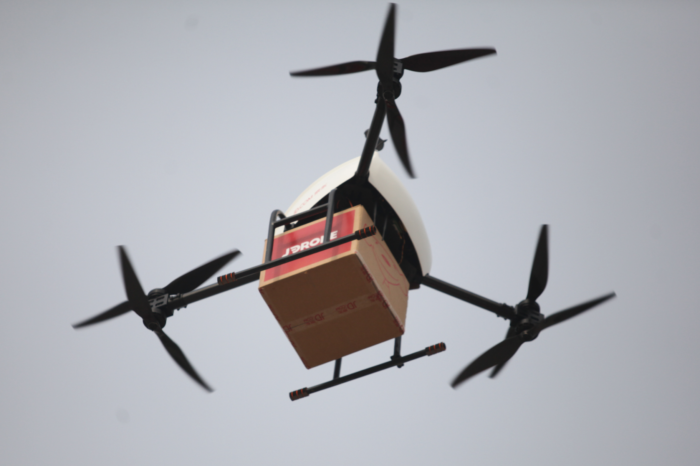 Malines is betting on drone delivery