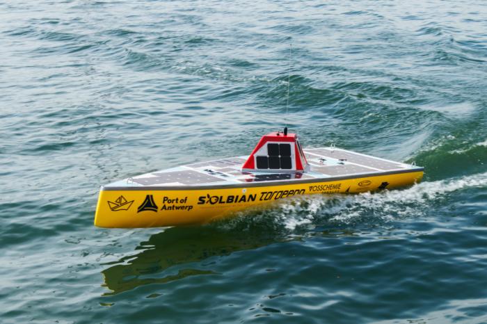 Belgian autonomous 'solar boat' to cross the ocean