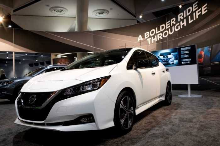 Nissan Leaf to become backup power station in Germany