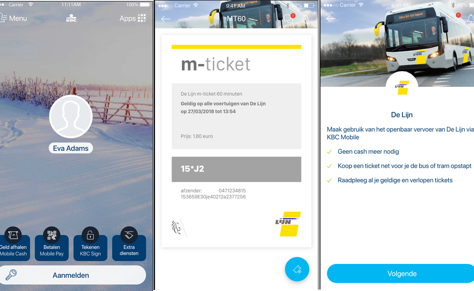 KBC bank to sell train tickets in its app - newmobility news