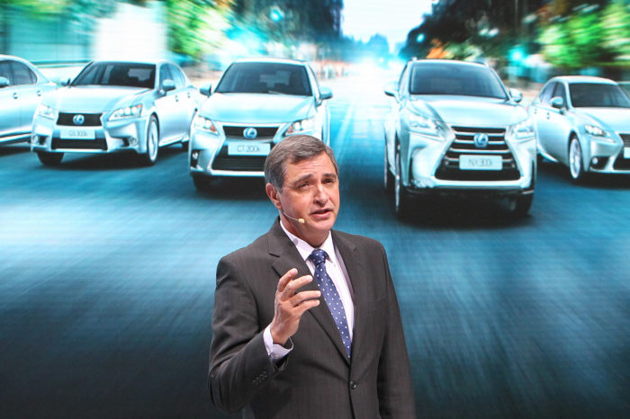 Johan van Zyl, CEO Toyota Europe: 'We are very happy in Belgium'
