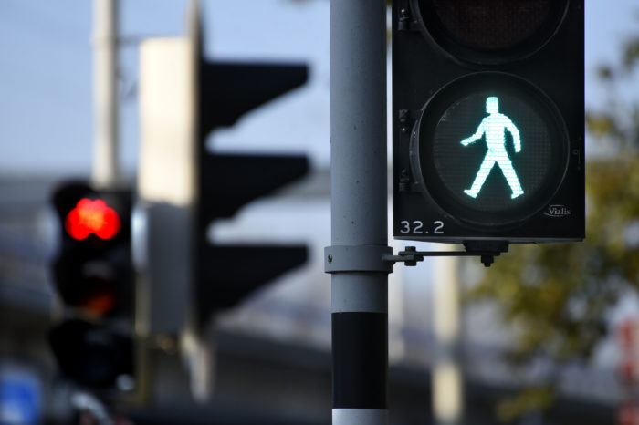 Brussels adapts traffic lights to corona situation
