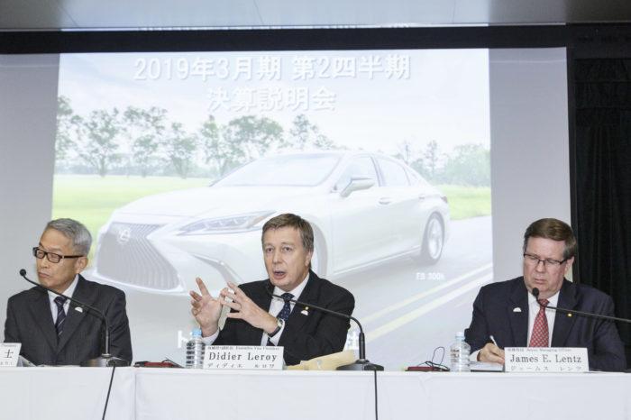 Toyota and Mitsubishi doing better than expected