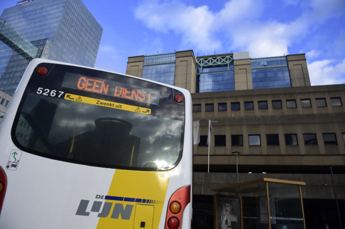 De Lijn reopens underground bus stop at Brussels' North Station