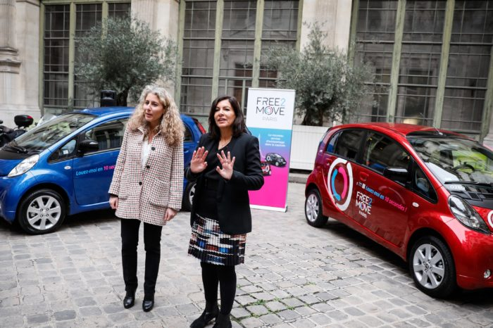 PSA unleashes 550 electric Free2Move cars in Paris