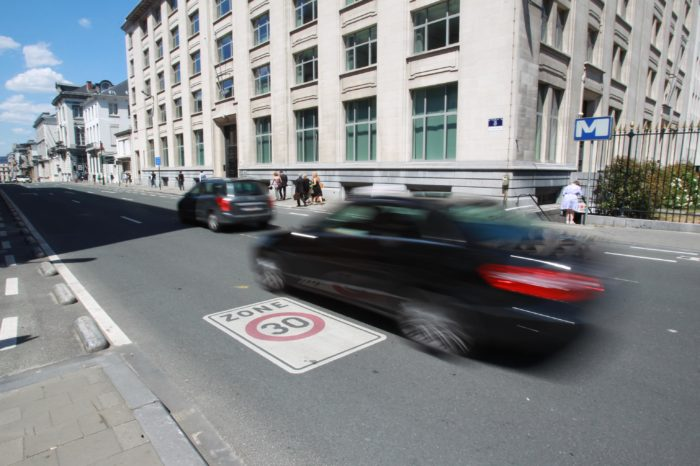 Brussels: three quarter of citizens want lower speed limits