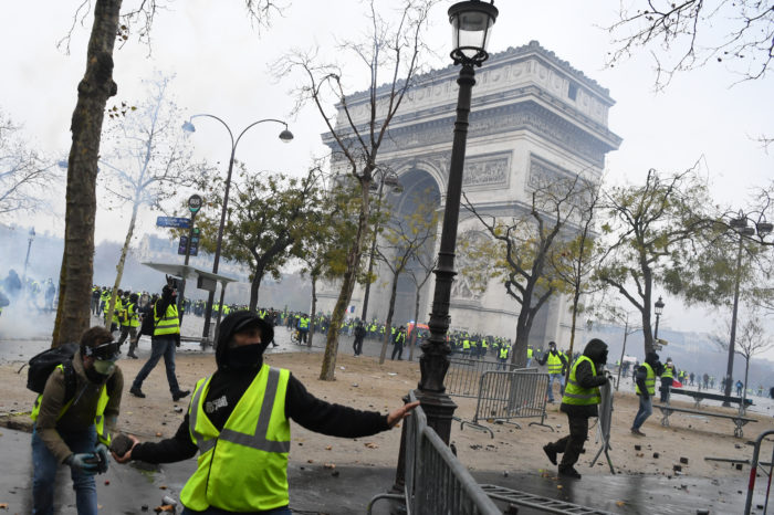 'Yellow Jackets' force French government to its knees