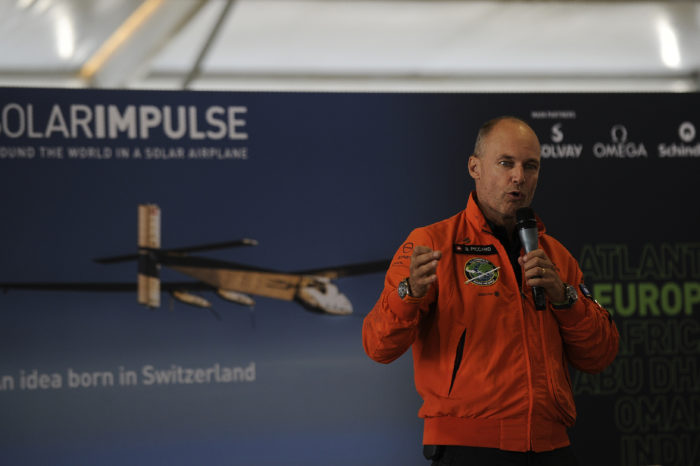 Bertrand Piccard: 'In less than ten years, there will be electric planes'