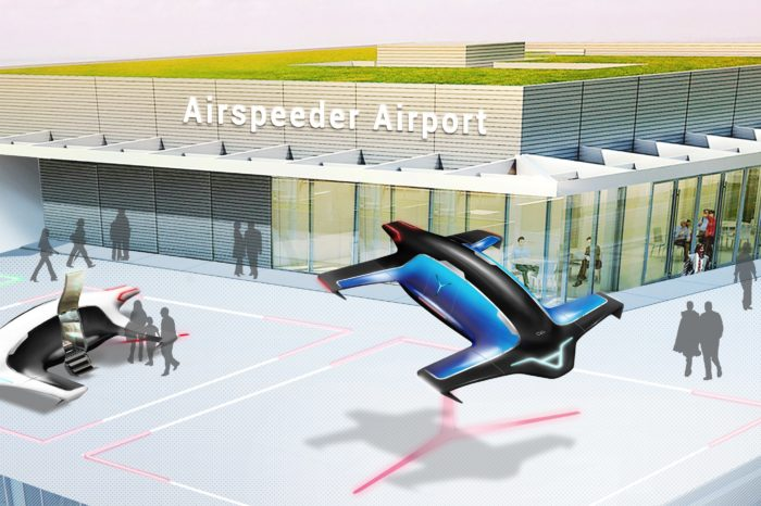 Electric self-flying taxi Airspeeder to take off in January