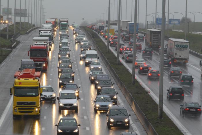 Congestion figures in Belgium beat all records