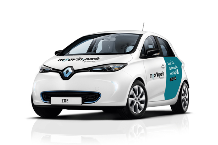 Renault to put 200 shared electric cars in Amsterdam
