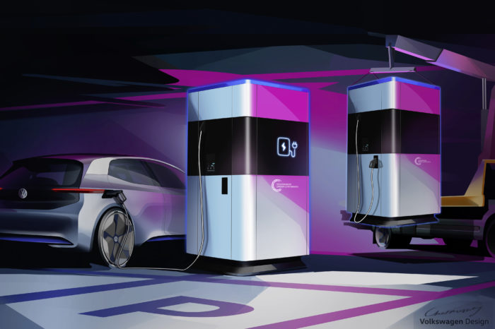 Volkswagen develops mobile super-charger