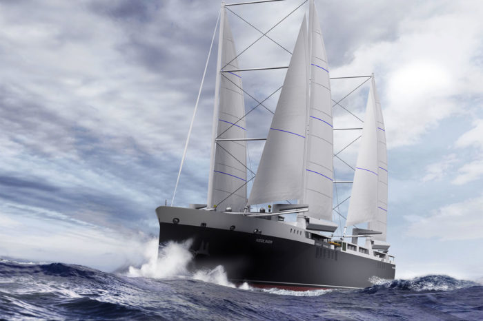 Neoline: French rebirth of cargo under full sail